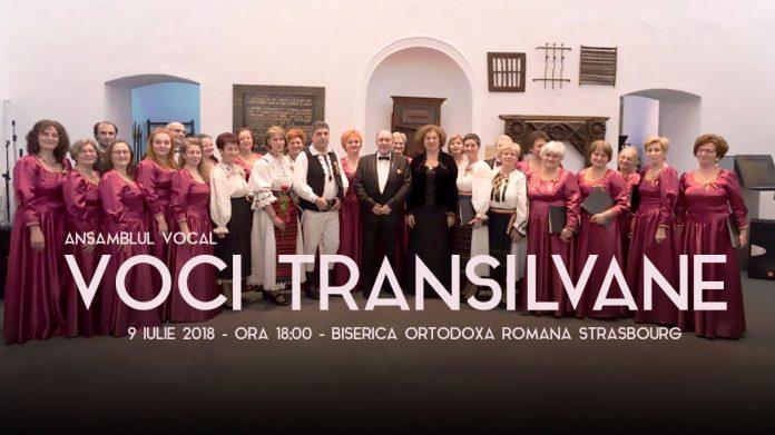 Concert Voci Transilvane Strasbourg 2018 - Români La Strasbourg