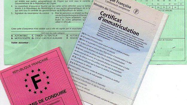 certificatul de nmatriculare auto fran a la carte