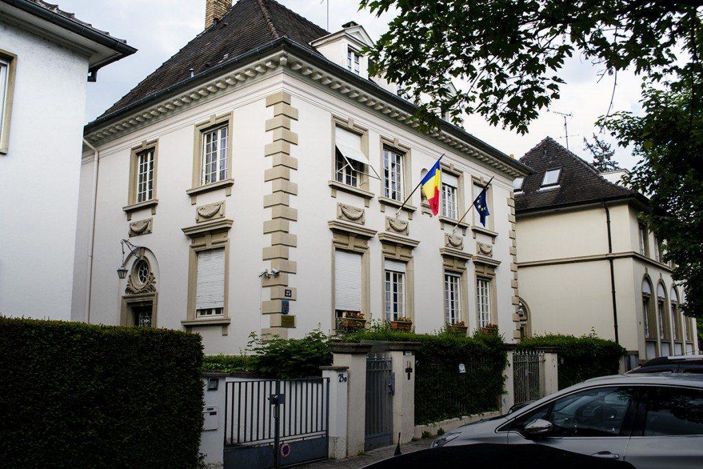 consulatul romaniei strasbourg romani