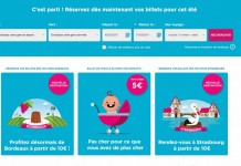 Strasbourg Paris transport ieftin tgv ouigo