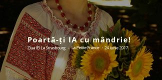 ziua universala a iei la strasbourg, ziua iei franta, la blouse roumaine 2017, ia day 2017, romani in strasbourg, ziua iei strasbourg