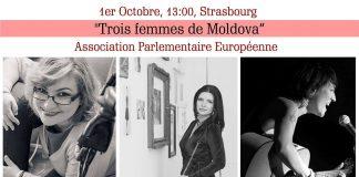 moldova consiliul europei, trois femmes de moldova, trei femei din moldova, Reprezentanta Republicii Moldova la Consiliul Europei, Zina Zen, Rusanda Cojocaru, Vika Mahu, moldoveni la strasbourg, romani in strasbourg, romani la strasbourg