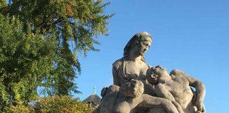 a nos morts, statue place de la republique, neustadt, unesco, istorie strasbourg, patrimoniu strasbourg, vizita strasbourg, turism strasbourg, ce e de vazut la strasbourg, journee du patrimoine strasbourg, romani la strasbourg, romani in strasbourg, comunitate romaneasca strasbourg