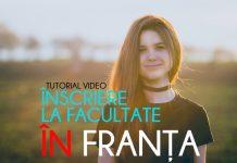 Inscriere facultate Franta 2018 - 2019, admitere facultate franta 2018, dosar universitate franta 2018
