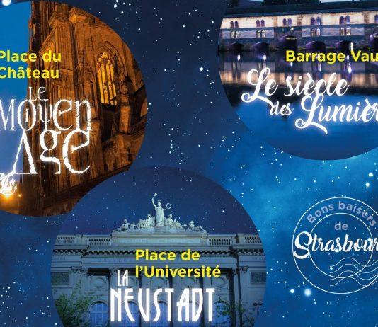illuminations cathedrale strasbourg 2018, spectacol de lumini catedrala strasbourg, proiectii lumini catedrala, light show cathedral, romani la strasbourg, program spectacol catedrala strasbourg